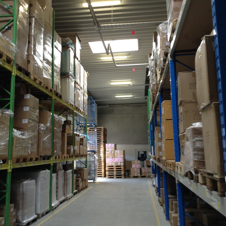 inside efco bulk warehouse