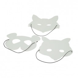 efco Mask panda / fox / racoon
