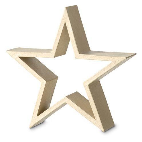 2630625 Star Frame standing 30 x 30 x - Decoupage